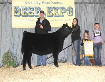 Reserve Champion Junior Owned Heifer