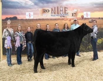 Reserve Junior Champion Heifer