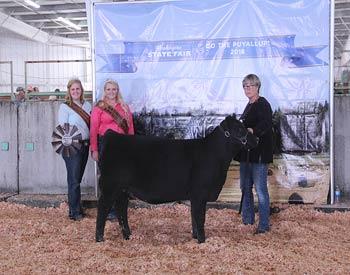 Reserve Junior Heifer Calf Champion