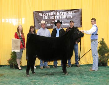 Owned Early Spring Heifer Calf Champion